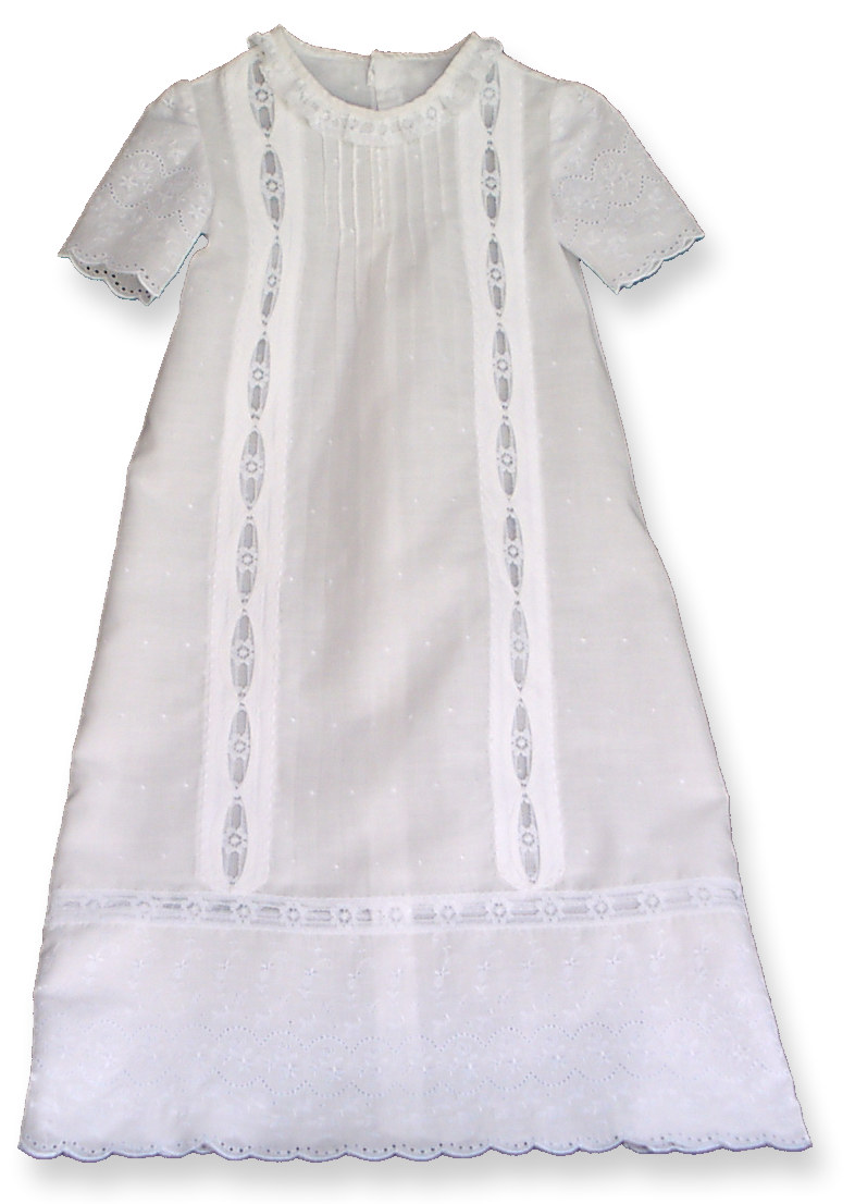 Christening Gown Patterns - Old Fashioned Baby